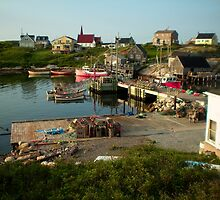 Peggy's Cove by PFrogg