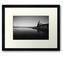 Oh Whistle and I'll Come to you, my lad Framed Print