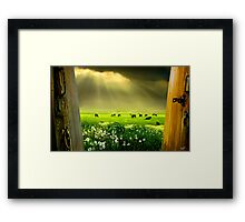 Gates of Life Framed Print