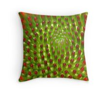 Infinite Whorls Throw Pillow
