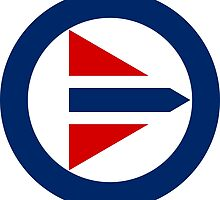 Royal Norwegian Air Force Roundel by abbeyz71