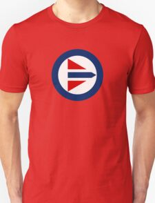 Royal Norwegian Air Force Roundel Unisex T-Shirt