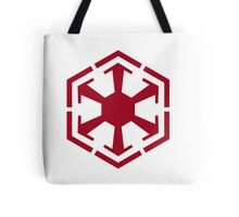 Imperial Crest Red Tote Bag