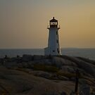 Peggy's Cove Light House by PFrogg