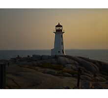 Peggy's Cove Light House Photographic Print