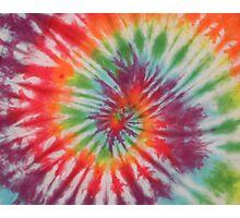 Tie Dye  Photographic Print