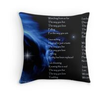 """The Image of - """"We Are"""" by TeriLee Throw Pillow"""