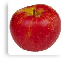 Big Red Apple Canvas Print