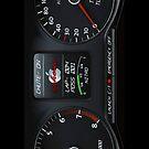 NITRO RACER dash board by ALIANATOR