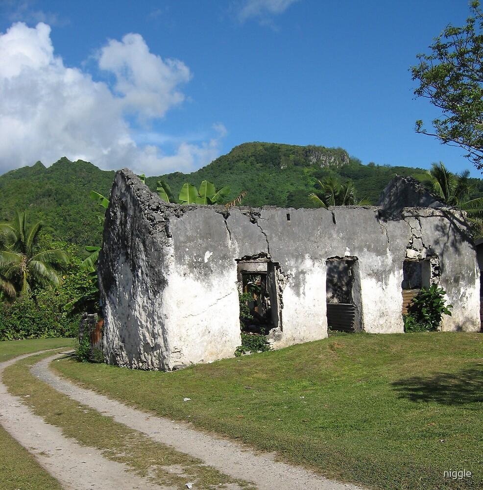 Abandoned in Rarotonga by niggle