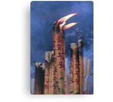Spiritual Flame Canvas Print