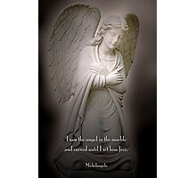 Angel in the marble . . . Photographic Print