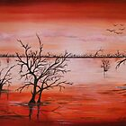 Wetlands - landscape by  Linda Callaghan