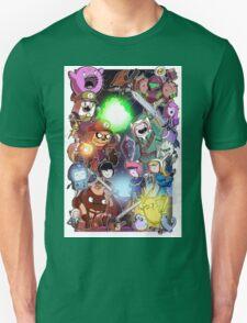 Adventure Time - Smash bros crossover T-Shirt