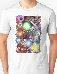 Adventure Time - Smash bros crossover T-Shirt