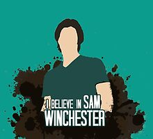 I Believe In Sam Winchester by iheartgallifrey