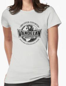Vandelay Industries (Black) Womens Fitted T-Shirt