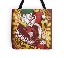 Love in Chaos Tote Bag
