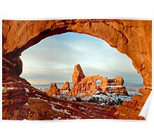 Turret Arch Through The Window Poster