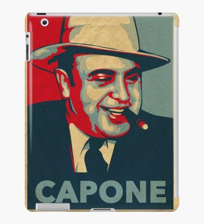 Al Capone Poster  iPad Case/Skin