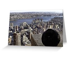 It's Chilly Up Here (New York) Greeting Card