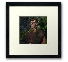 Etterrian, the Great King Framed Print