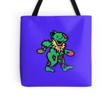 Grateful Undead bear Tote Bag