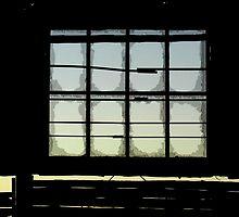 Old Mungo Woolshed Window by Marie Watt