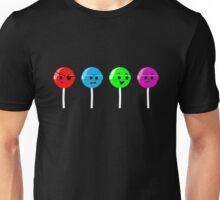 Emotional Range of Lollipops Unisex T-Shirt