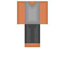 Minecraft Skin PJ Duvet Cover by HyperDerpz