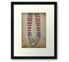 Girls just want to have fun ... ! Framed Print