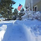 What's a little more snow? by Karen Checca