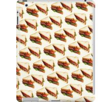 BLT Sandwich Pattern iPad Case/Skin