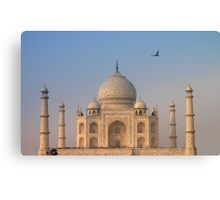 Taj Mahal, Agra India Canvas Print