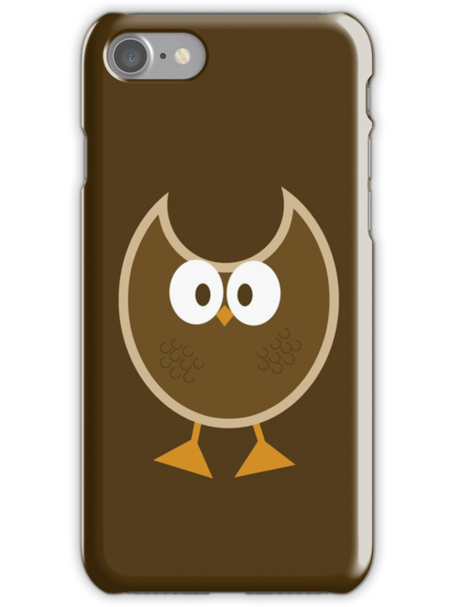 Cartoony Owl by iheartgallifrey