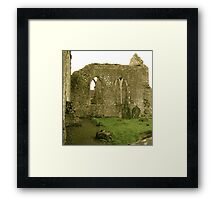 Dominican Priory in Ireland Framed Print