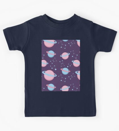 Planets and Constellations Kids Tee