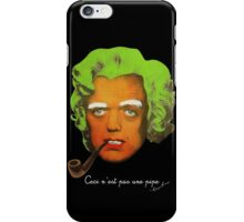 Oompa Loompa Self Portrait With Surreal Pipe iPhone Case/Skin