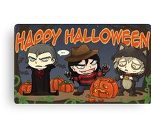 Dreadful Halloween Canvas Print