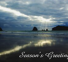 Whangamata, Season's Greetings by Steven Weeks