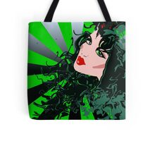 Sexy goth girl gifts Diva Tote Bag