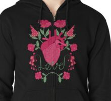 Anatomical Love Zipped Hoodie