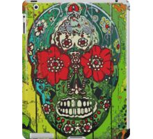 Day of dead sugar art skull graffiti gifts iPad Case/Skin