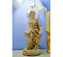 Art Nouveau Statue Photographic Print