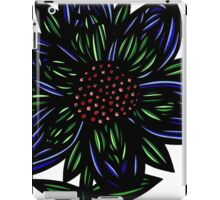 Caliginous Flowers Red Green Blue iPad Case/Skin