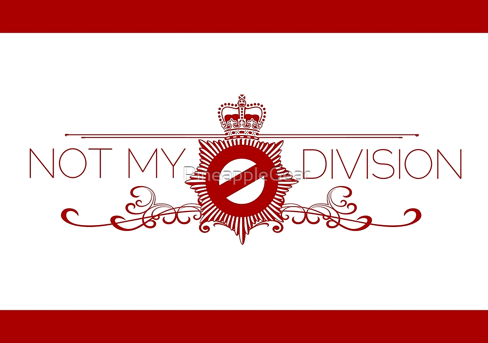 Not My Division by PineappleGear