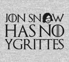 Jon Snow Has No Ygrittes by romysarah