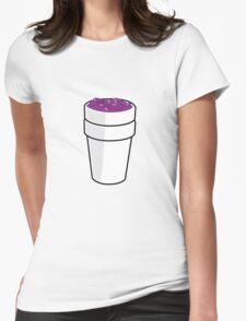 CODEINE CARTOON Womens Fitted T-Shirt