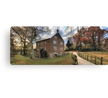 Kerr Grist Mill Panorama Canvas Print