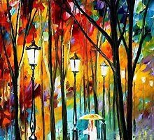 Lady In White — Buy Now Link - www.etsy.com/listing/223145107 by Leonid  Afremov